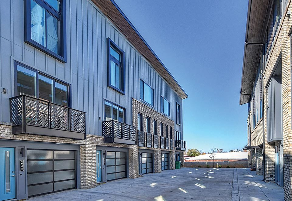 Revolve Residential Domain townhomes in South End