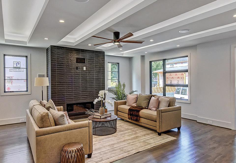 Revolve Residential home living room